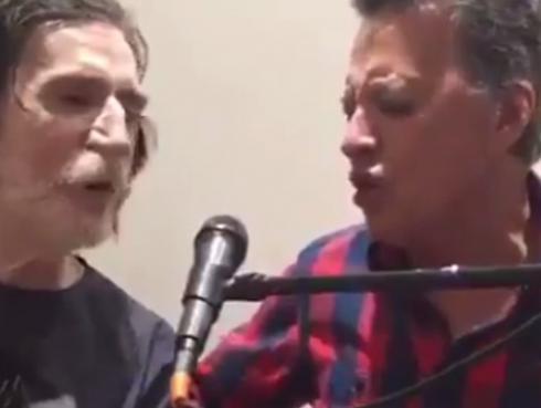 Charly García y Palito Ortega hicieron la versión más rockera de 'Popotitos' [VIDEO]