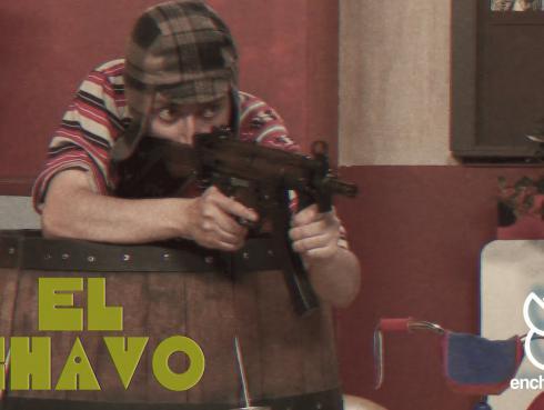 Mira la nueva parodia de 'Enchufe TV' sobre el 'Chavo del 8'