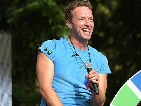 El antes y después de Chris Martín, líder de Coldplay [FOTOS]