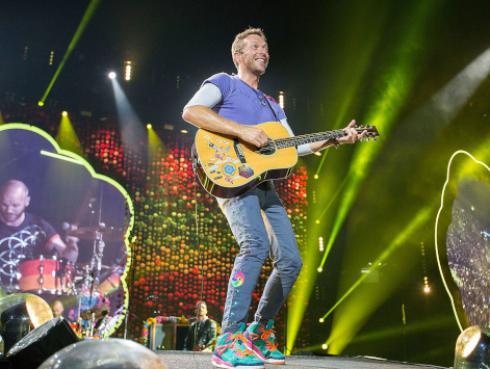 Chris Martin de Coldplay celebró su cumpleaños junto a su exesposa [FOTO]