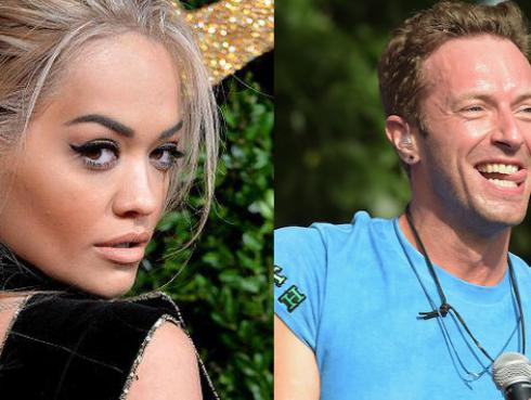 ¿Chris Martin y Rita Ora pasaron la noche juntos?