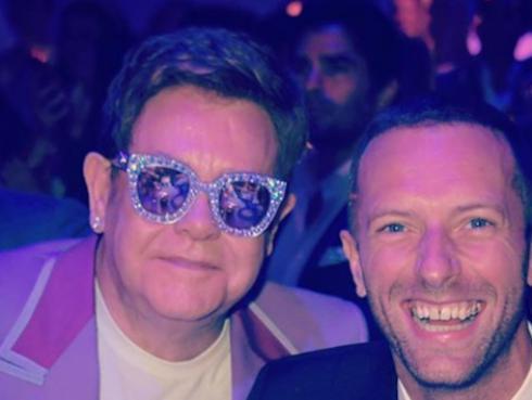 Chris Martin y Elton John juntaron sus voces en una acción benéfica