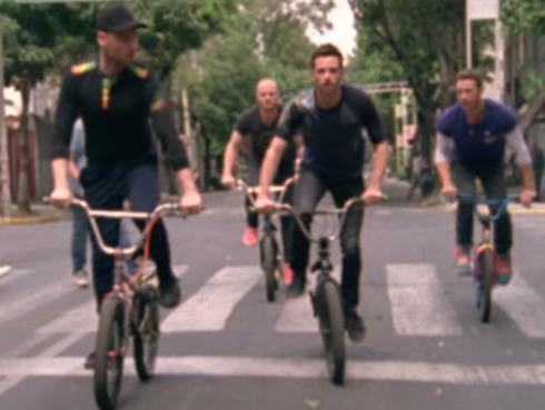 ¡Coldplay presentó videoclip de 'A Head Full of Dreams' grabado en México!