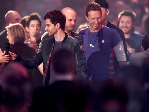 Coldplay arrasa en los Brit Awards [FOTOS Y VIDEO]