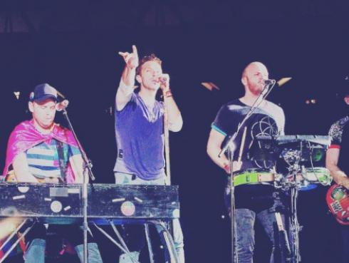 Coldplay celebra nominación en The Webby Awards