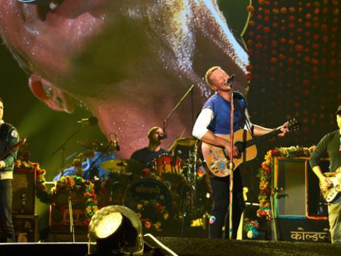 Coldplay le dará la bienvenida al Año Nuevo con megaconcierto