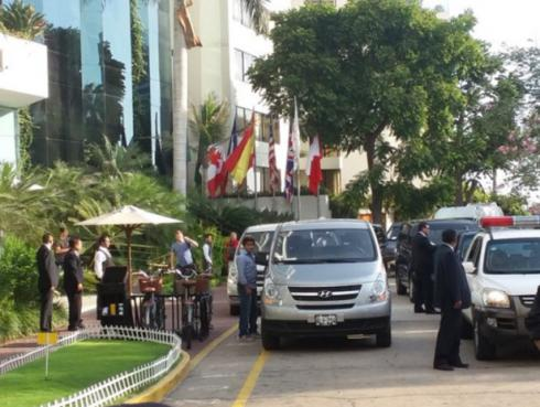 ¡Coldplay llegó a Lima! Aquí sus primeras imágenes [FOTOS]