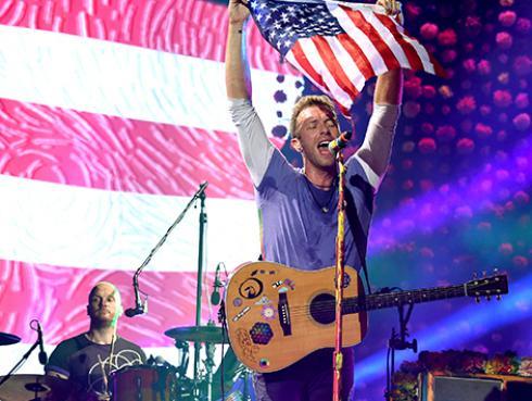 Coldplay presentó en vivo 'Cry, cry, cry', su más reciente éxito