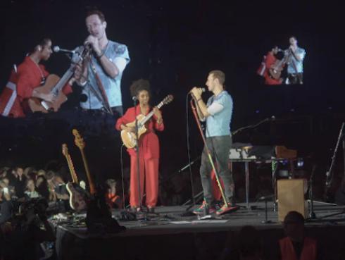 ¡Coldplay y Lianne La Havas rindieron homenaje a Prince! [VIDEO]