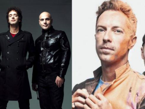 Coldplay ensaya 'De música ligera' de Soda Stereo, ¿se preparan para interpretarla en Argentina? [VIDEOS]