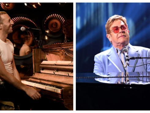Coldplay y Elton John se unirán para festival online que será transmitido a nivel mundial