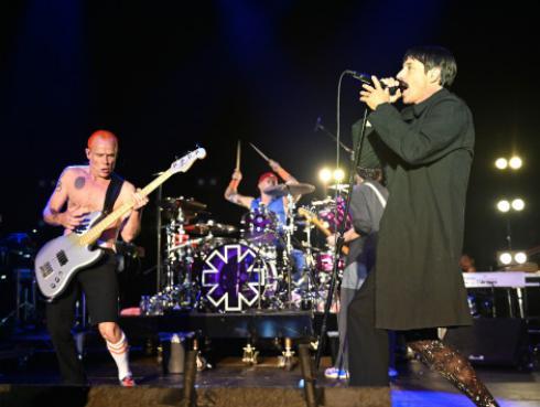 Concierto de Red Hot Chili Peppers en la Gran Pirámide de Guiza será transmitido en directo