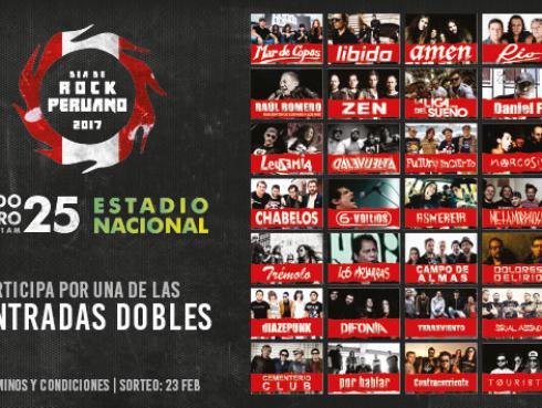 Radio Oasis te regala 15 entradas dobles para el Día de Rock Peruano