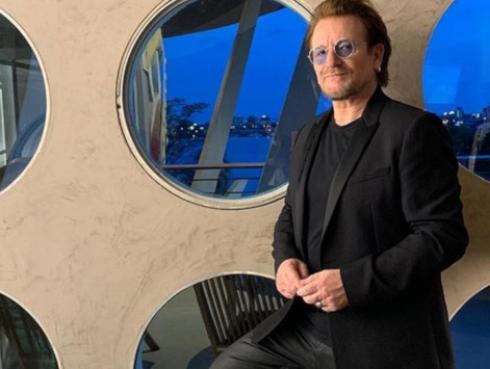 Conoce a la familia de Bono de U2
