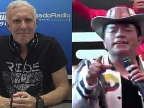 Ex Soda Stereo habló sobre cover de 'Cuando pase el temblor' de 'Delfín' Quishpe [VIDEO]