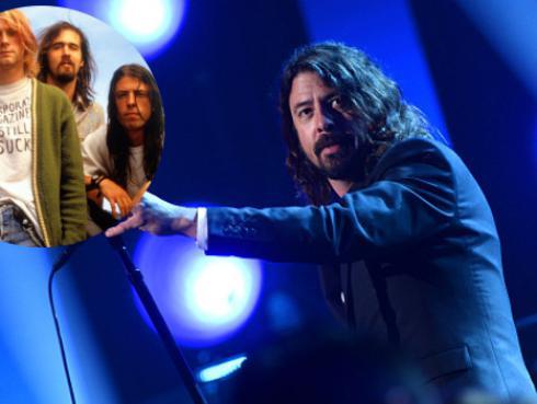 ¡Dave Grohl reveló detalles de su ingreso a Nirvana hace 26 años! [VIDEO]