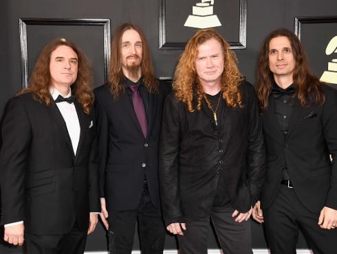 Dave Mustaine habló sobre canción de Metallica que sonó en los Grammy cuando Megadeth era premiada [VIDEO]