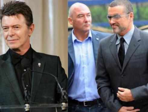 Por mes: De David Bowie a George Michael, las estrellas que vimos partir este año