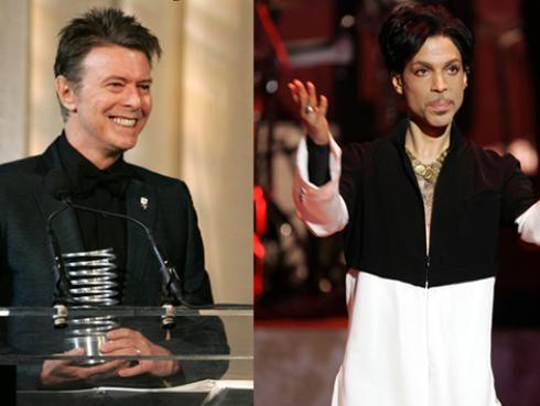 David Bowie y Prince reciben homenaje en la 'Liga de la Justicia'