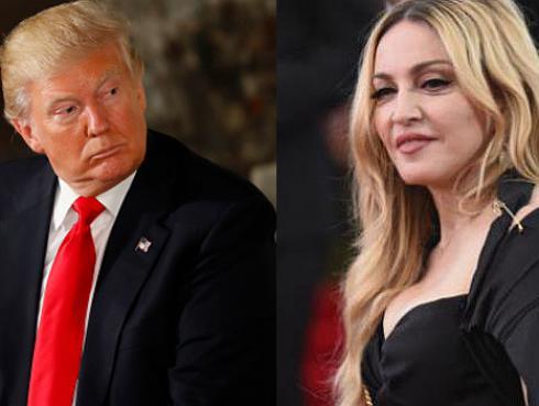 Donald Trump responde a Madonna y la llama 'asquerosa'