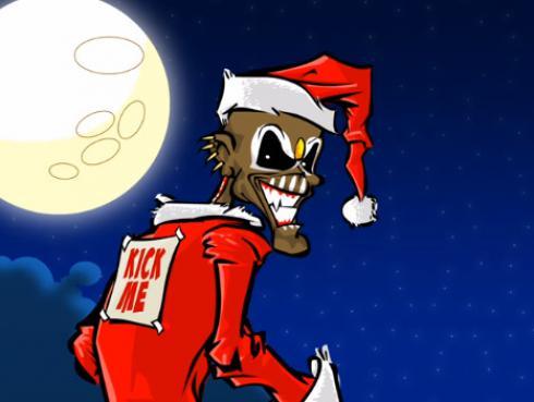 Eddie, la popular 'mascota' de Iron Maiden, sorprende en divertido clip navideño [VIDEO]