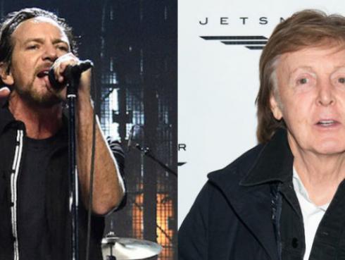 La anécdota en un bar entre Paul McCartney y Eddie Vedder, líder de Pearl Jam