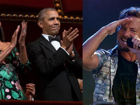 Eddie Vedder sorprende con covers en despedida de Obama [VIDEO]