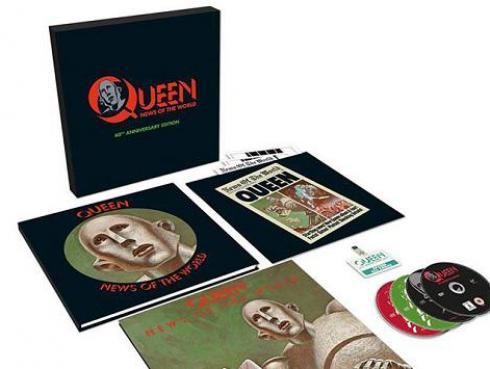 El álbum News of the World de Queen tendrá una edición especial