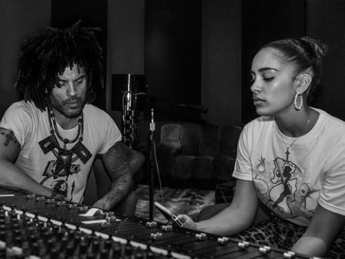 Lenny Kravitz colaboró con Jorja Smith [FOTO]
