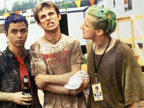 El baterista de Green Day recuerda con cariño lo 'caótico' que fue 'Woodstock 94'