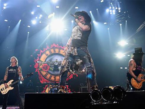 ¡El concierto de Guns N' Roses en el que Axl Rose perdió el control!