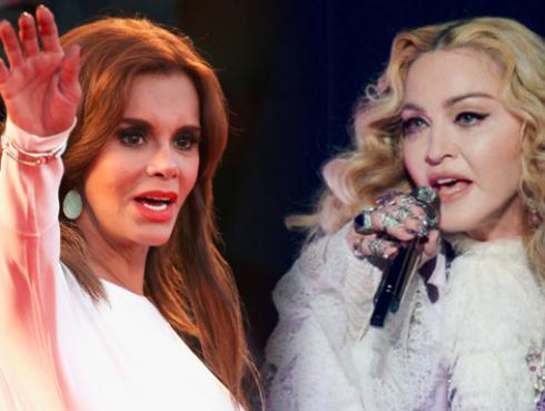 El día en que Madonna tuvo altercado con la actriz Lucía Méndez