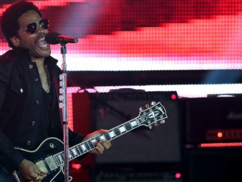 Estas son las fechas de los conciertos en Latinoamérica de Lenny Kravitz