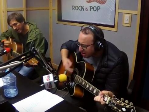#Fogatera: El Marshall y Piccini interpretaron 'Trátame Suavemente', de Soda Stereo