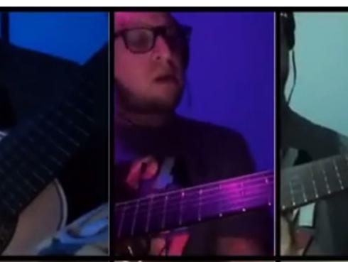 El Marshall tocó 'Losing My Religion' de R.E.M. con charango