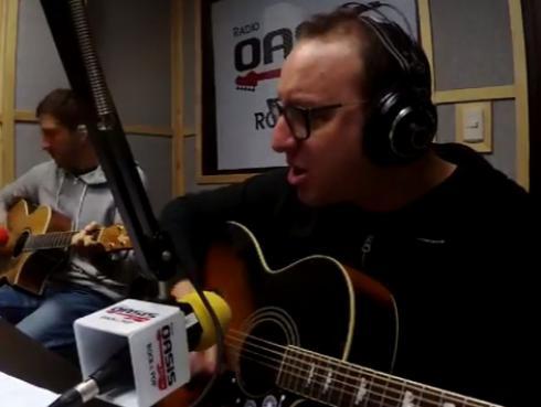 #Fogatera: El Marshall y Piccini interpretaron 'Lamento boliviano', de Enanitos Verdes