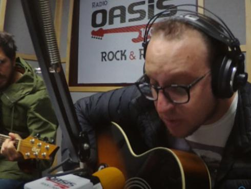 #Fogatera: El Marshall y Piccini interpretaron 'Grita', de Jarabe de Palo