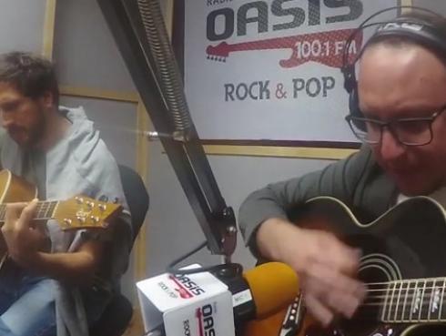 #Fogatera: El Marshall y Piccini interpretaron 'Jeremy', de Pearl Jam