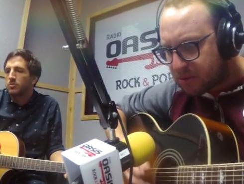 #Fogatera: El Marshall y Piccini interpretaron 'The One I Love', de R.E.M. [VIDEO]