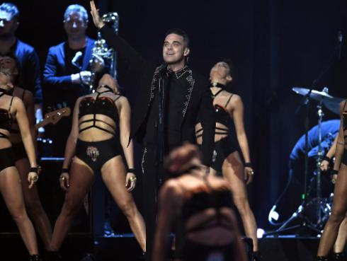 Robbie Williams se presentó en Chile [VIDEO]