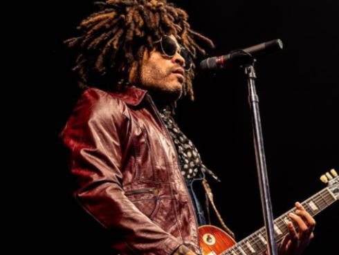 Lenny Kravitz se presentó en Washington