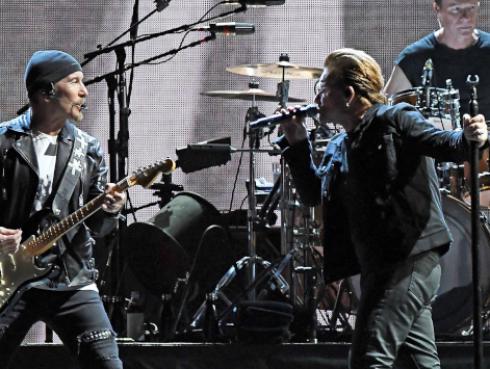 U2 siguen siendo los mejores pagados