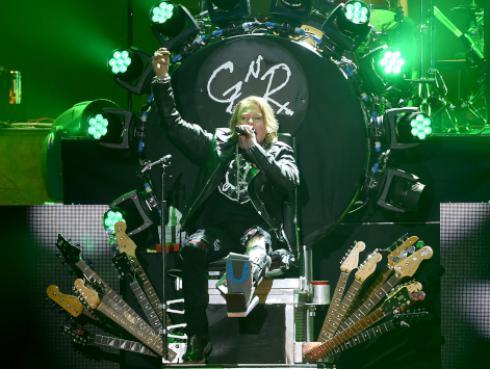 Guns N' Roses anuncia primer concierto en Hawái
