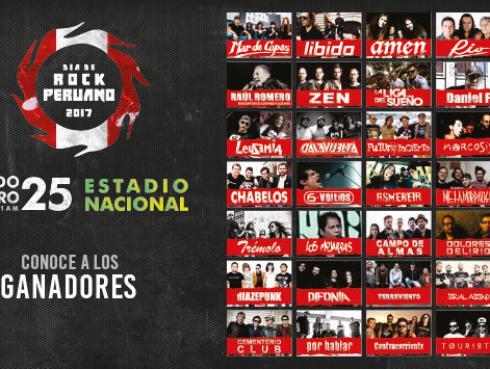 Ellos ganaron las entradas para el Día de Rock Peruano en el Estadio Nacional