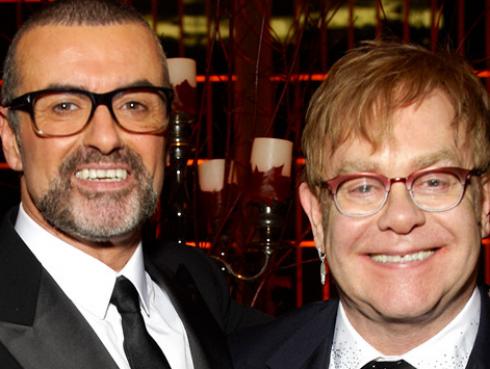Elton John cantará en el funeral de George Michael