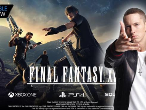 Eminem ahora también suena en 'Final Fantasy XV' [VIDEO]
