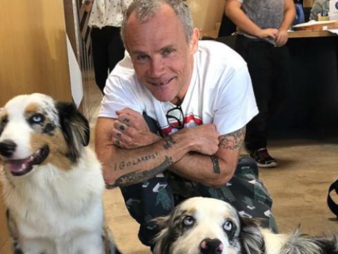 Flea, de Red Hot Chili Peppers, celebró su cumpleaños de esta manera