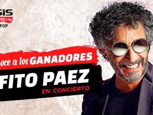 ¡Estos son los ganadores de las entradas dobles para el concierto de Fito Páez!