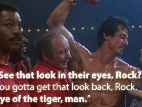 La historia detrás de 'Eye Of The Tiger' de la película 'Rocky III'