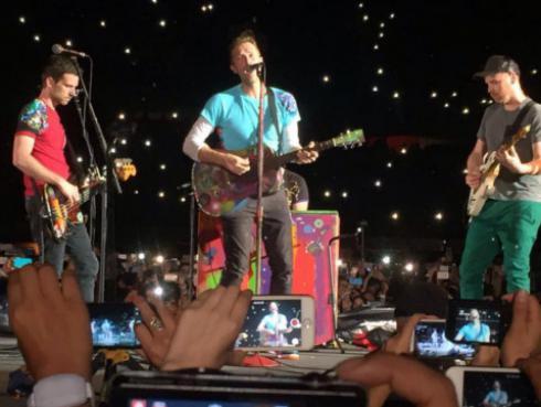 Coldplay: Fotos y videos del espectacular show en el Estadio Nacional